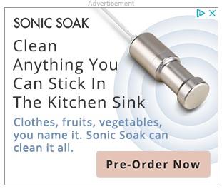 Sonic soak ad